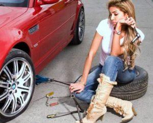 Tire Change - Roadside Assistance